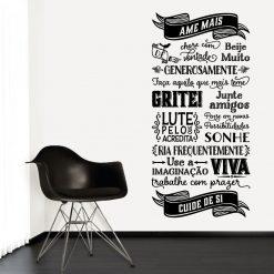 ABC da vida. autocolante decorativo de parede.