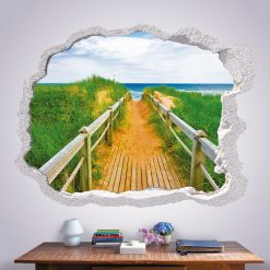 Efeito buraco na parede 3D
