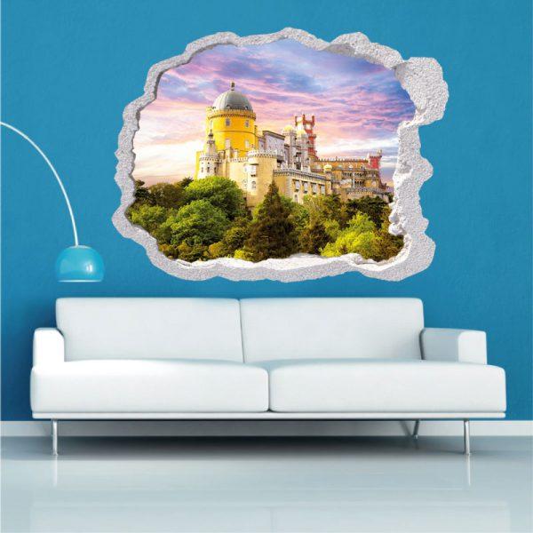 Buraco palacio de Sintra,vinil autocolante decorativo.