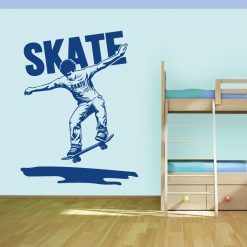 Skater. Autocolante decorativo de parede.