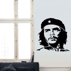 Che Guevara em vinil autocolante decorativo de parede.