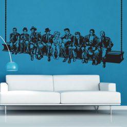 Lanche dos famosos hollywood, autocolante decorativo de parede