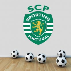 Sporting Clube de Portugal autocolante decorativo de parede.
