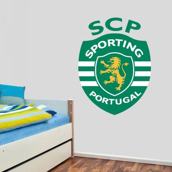 Sporting Clube de Portugal autocolante decorativo de parede