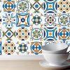 Azulejos geométricos Portugueses (Pack de 30 unidades) em vinil autocolante decorativo