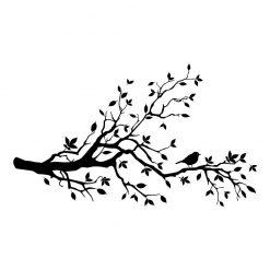 Ramo de Árvore em vinil autocolante decorativo de parede