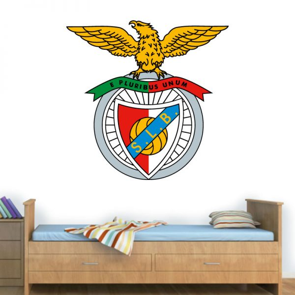 Sport Lisboa e Benfica, autocolante decorativo de parede.