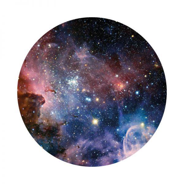 Galáxia, vinil autocolante de parede decorativo.