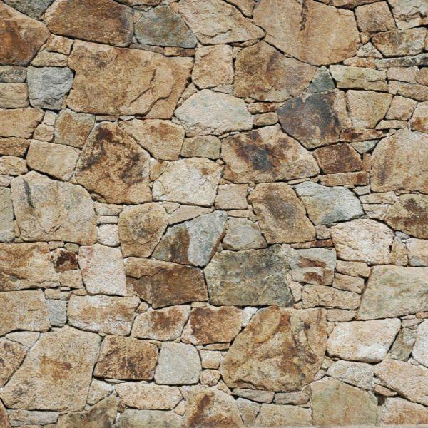 Mural de parede pedra rústica medieval em vinil autocolante decorativo. Aplique esta imagem em qualquer superfície lisa e sem textura.