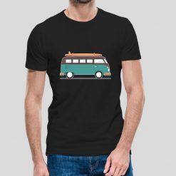 T-shirt Pão de forma van.T-Shirts para Homem 100% Algodão, moderna e básica de manga curta com visual contemporâneo.