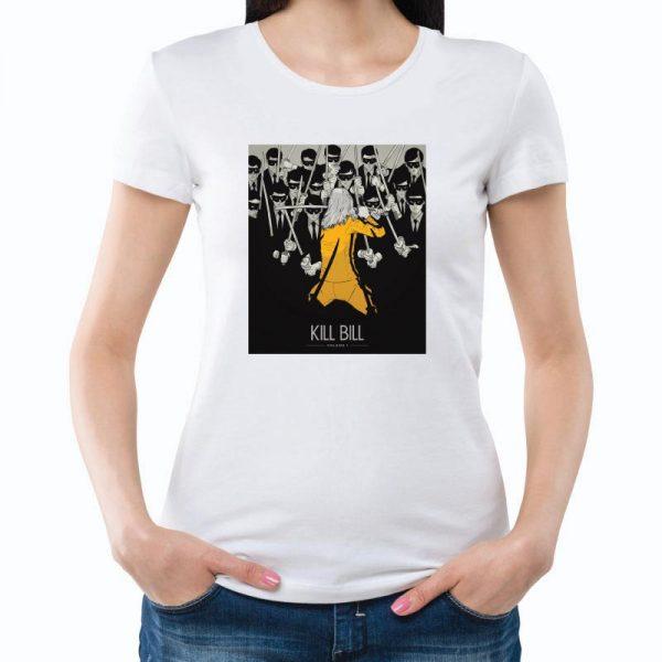 T-shirt Kill Bill unissexo 100% Algodão, moderna e básica de manga curta com visual contemporâneo.