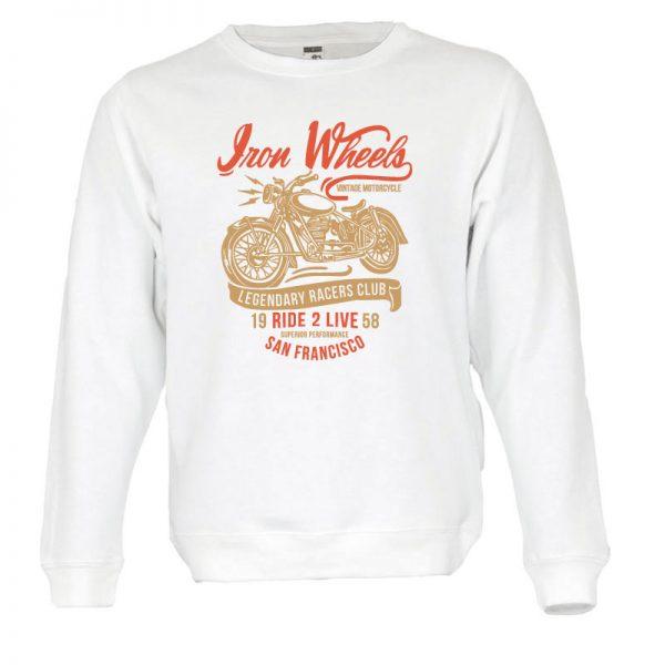 Sweatshirt Legendary Racers club retro unissexo