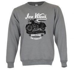 Sweatshirt Legendary Racers club retro unissexo