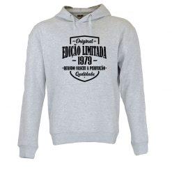 Sweatshirt com capuz Edição Limitada com data personalizada