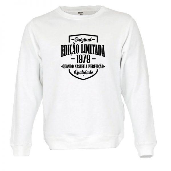 Sweatshirt Edição Limitada com a sua data de nascimento personalizada