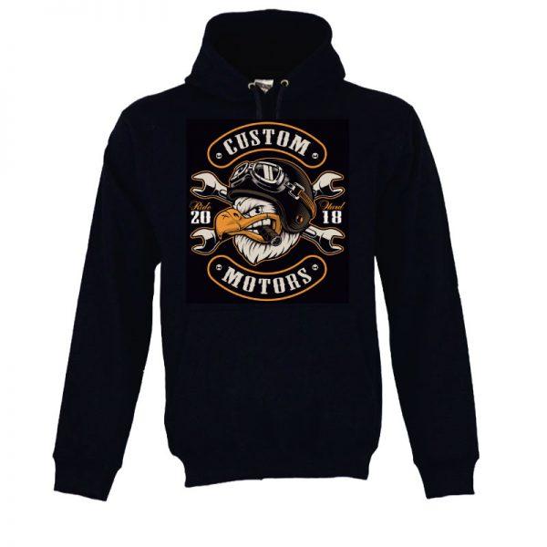 Sweatshirt com capuz Custom motors ride