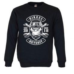 Sweatshirt Gorilla Biker. Unissexo.