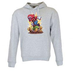 Sweatshirt com capuz Super Mario