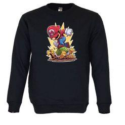 Sweatshirt Super Mario. Unissexo