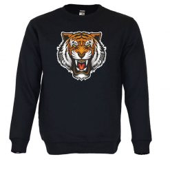 Sweatshirt Cabeça de Tigre. Unissexo