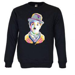 Sweatshirt Charlie Chaplin. Unissexo
