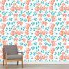 Papel de parede Floral Utopia em vinil autocolante decorativo