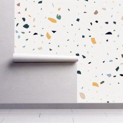 Papel de parede Dispersão fresco em vinil autocolante decorativo
