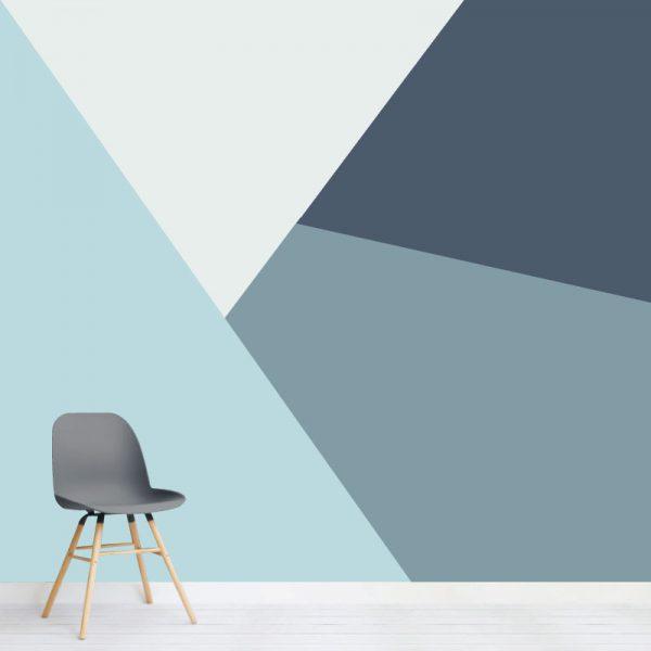 Papel de parede Trapeza em vinil autocolante decorativo