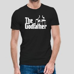 T-shirt Unissexo The Godfather. 100% Algodão, moderna e básica de manga curta com visual contemporâneo.