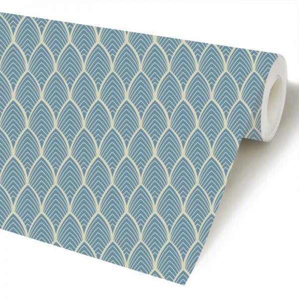 Arcos geométrico papel de parede rolo