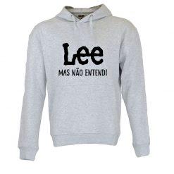 Sweatshirt com capuz Lee mas não entendi