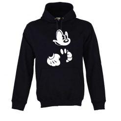 Sweatshirt com capuz Mickey irritado