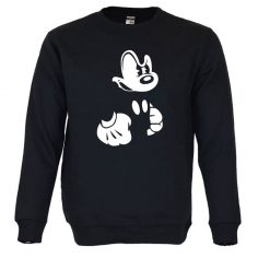 Sweatshirt Mickey irritado