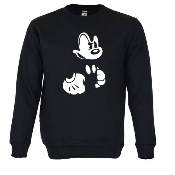 Sweatshirt Mickey irritado