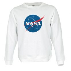 Sweatshirt Nasa logotipo vintage