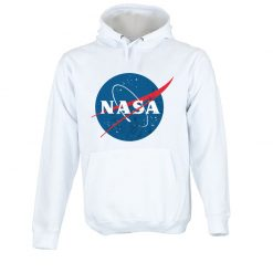 Sweatshirt com capuz Nasa logotipo vintage