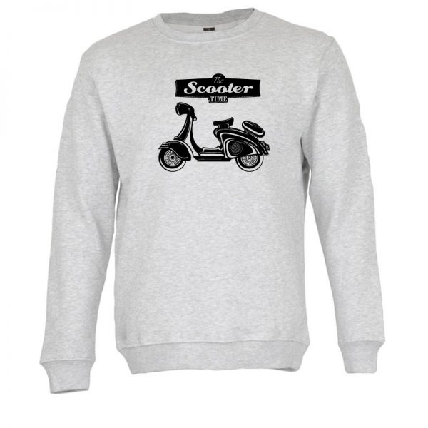Sweatshirt Scooter Time