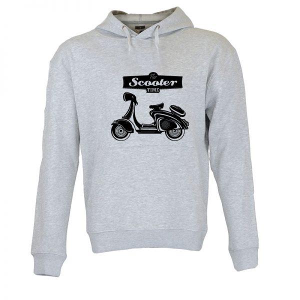 Sweatshirt com capuz Scooter Time