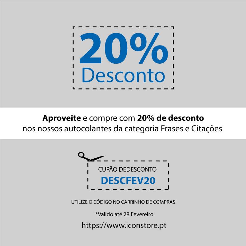 CUPÃO 20% FEVEREIRO
