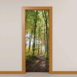 Vegetação Floresta vinil para portas